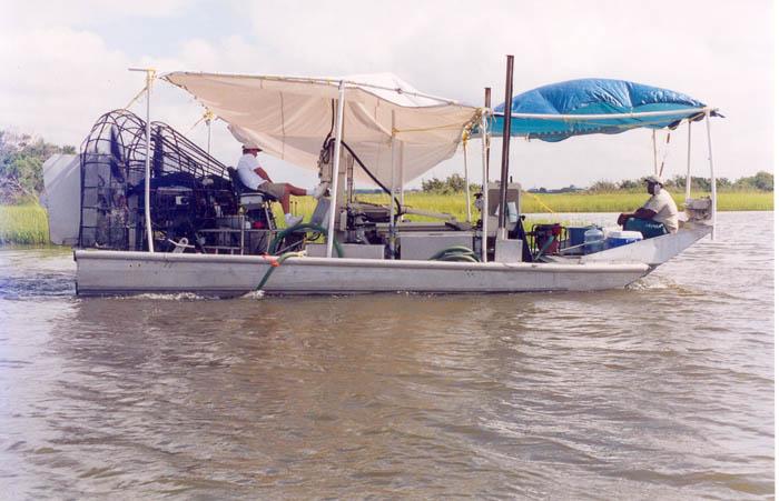 Airboat Transportation,Pathmaker Airboats,Jacqueline Lynn,Barges