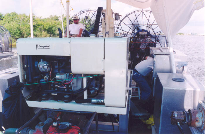 Airboat Transportation - Airboats for Seismic Operations